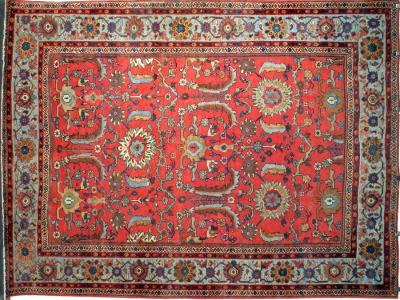 Antique Persian Meshkabad