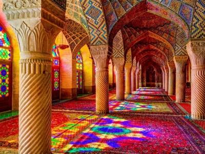 Nasir-ol-Molk Mosque Shiraz