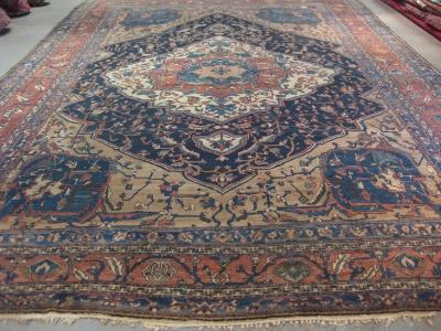 Antique-Persian-Bakhtiar-circa-1880-size-5-78m-x-4-00m