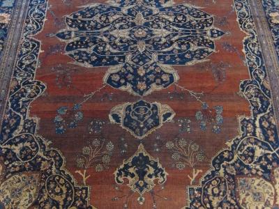 Antique Sarouk 4.46mx3.26m
