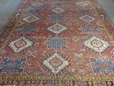 Old Persian karadja-3-85m x 2-94m