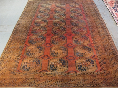 Old Afghan ref 5450 size 3.89m x 2.79m
