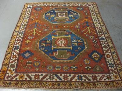Old-Caucasion-kazak-size-1-94m-x-1-53m
