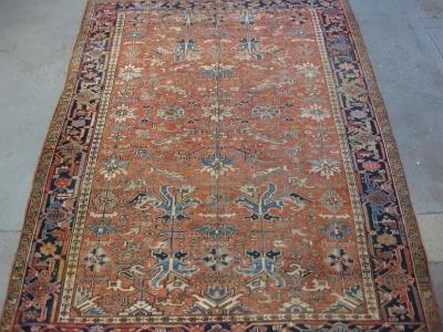 Old Persian Heriz size 3.12m x 2.35m