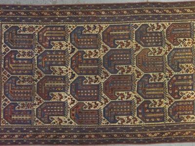Old persian khamseh size 1-84m-x-1-14m