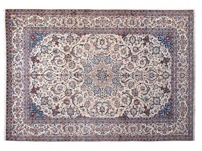 61559 Fine Persian Nain carpet size 4.14m x 3.07m