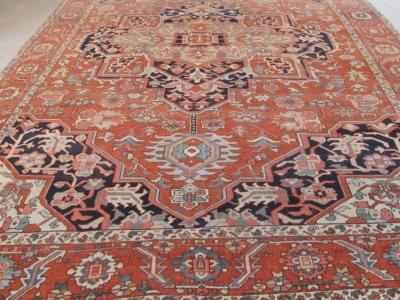 Antique Persian Serapi 3.97m x 2.80m