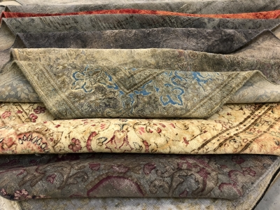 Persian Overdyed carpets