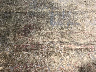 Persian Kerman Overdyed carpet