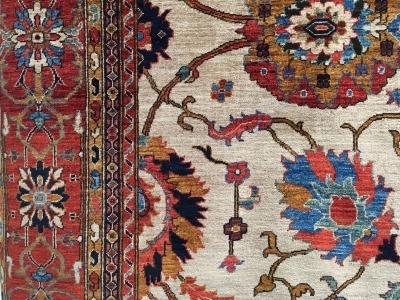 Beautiful coloured Afghan carpet