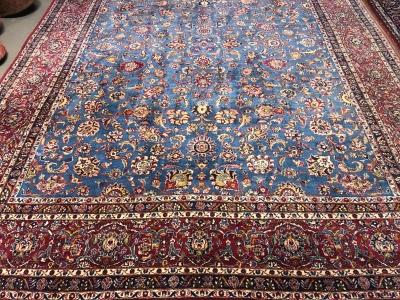 Fine Old Persian Kashan size 3.70m x 2.80m