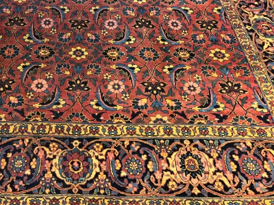 Old Persian Veramin 4.26m x 2.86m