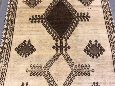 Ole Persian Gabbeh rug 2.10m x 1.30m