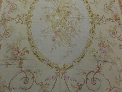 We stock a fine selection of Aubusson rugs
