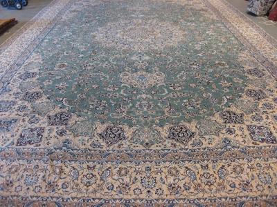 Fine Persian Nain carpet size 7.94m x 4.96m