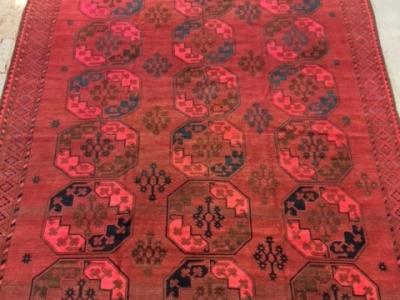 Old Afghan carpet 3.94m x 2.55m