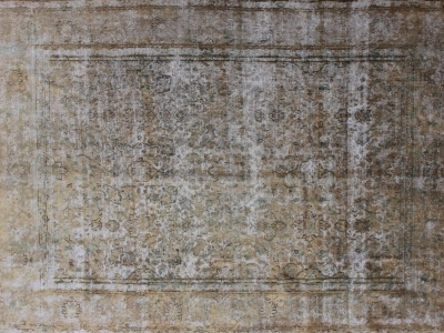 Vintage Persian overdyed