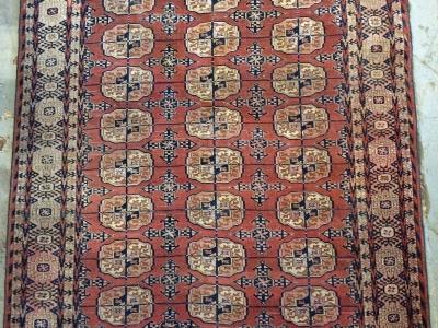 Antique Tekke Turkomen rug