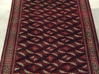 Yomut Turkoman size 3.84m x 2.14m